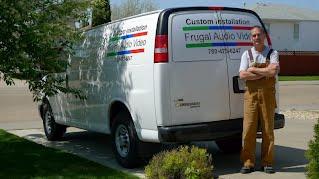 Frugal Audio Video Van
